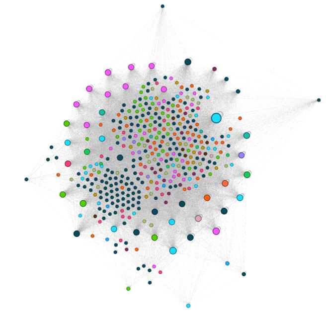 Dévoiler la réelle structure d'un site web avec Gephi Réacteur